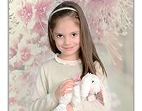 Spring children portraits