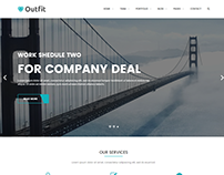 Outfit - Corporate HTML Template