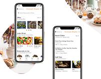 Food Delivery App - Adobe XD Creative Challenge