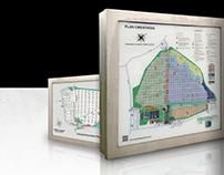 Warsaw Communal Cemeteries - Vector maps