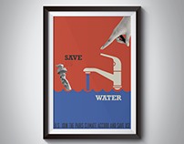 "Save ""us"" Water"
