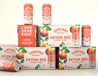 Sandford Orchards Cider Rebrand - Kingdom & Sparrow