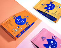 Packaging design(about cat food)