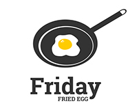 Branding Identity - Logo design Friday Egg