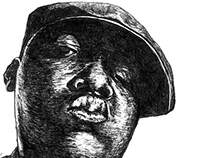 Notorious B.I.G. Portrait