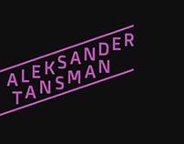 TANSMAN // branding