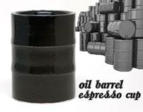 Oil Barrel Espresso Cup