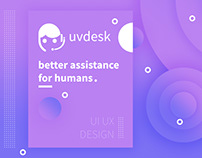 UVdesk App User Interface and Interaction Design