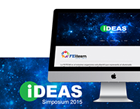 Ideas Simposium 2015 // Diseño Web