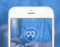 99.co App Design