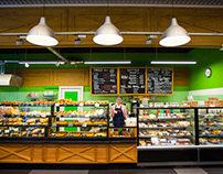 retail design project for local convenience store chain