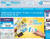 Site E-commerce Aki Tem Preço