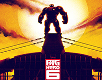Poster Posse Project #12 Big Hero 6 – Phase 1