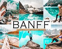 Free Banff Mobile & Desktop Lightroom Presets