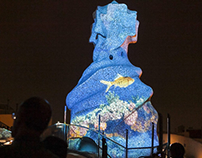 Gaudi Video Mapping