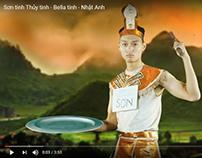 Nhật Anh Trắng - Sơn tinh, Thủy Tinh, Bella tinh