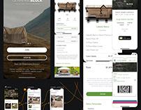 Glamping Blocks Booking App & Website