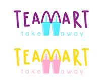 Logo trà sữa Tea Mart
