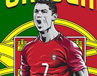 UEFA EURO2016 Illustration