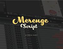 Merenge Script. Animated illustrations.