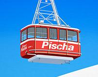 Davos,Klosters Ski Resort Poster