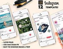 Instagram promotion pack