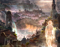 Novel cover Illustration