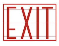 LOGO AFTERPARTY EXIT GLR