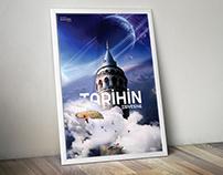 İstanbul Galata Kulesi Afiş Çalışması l Poster Project