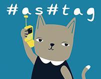 Hashtag Kitty