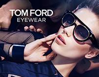 Luxury eyewear brands landing page