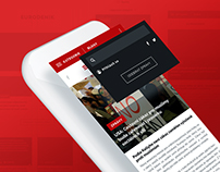News website redesign