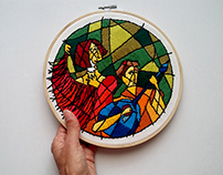 Fado - Embroidery Art