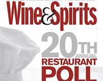 Hulya Kolabas as seen in Wine&Spirits Magazine