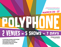 POLYPHONE - Festival Branding