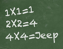 Jeep / Print Ad.