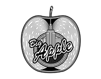 Big Apple - Vector Concept