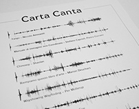 Carta Canta - an album made of paper