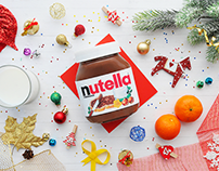 NUTELLA - christmas cover