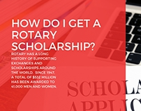 How Do I Get A Rotary Scholarship?