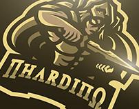 Nhardino Gaming Logo Design - Achilles Demigod