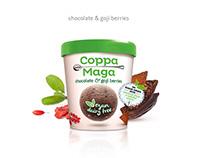 Coppa della Maga ice cream