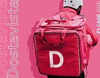 Dostavista — Delivery app concept