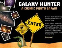 Website Redesign: Galaxy Hunter
