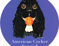 003 | American Cocker Spaniel (Black)