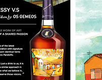 Hennessy Cognac - Exclusive landing page