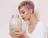 Iva and the golden fish