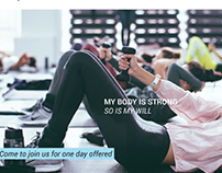 Gym center web design