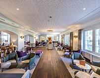 Lobby Kurhotel in Schinznach-Bad
