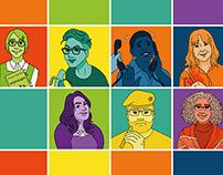 UJ Graphic Design Department Staff Portraits